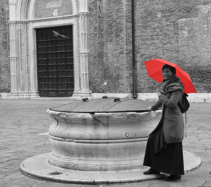 Luisella Romeo, licensed tourist guide in Venice