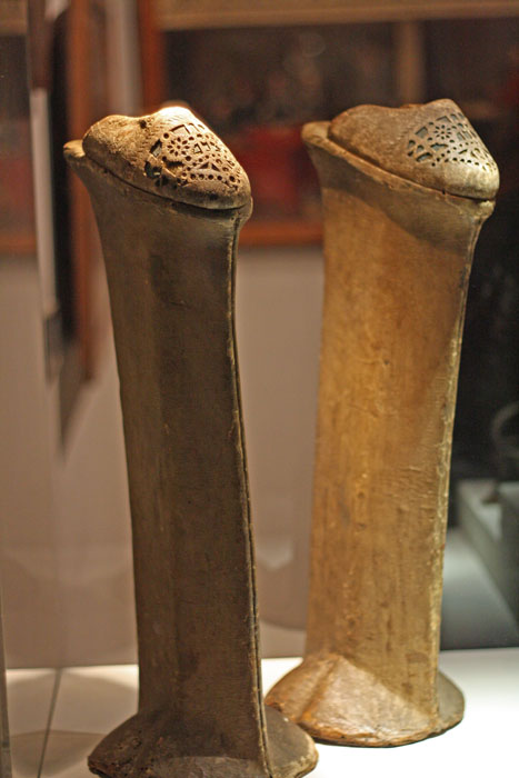 Women's shoes used in Venice, Correr Museum