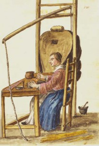 Giovanni Grevembroch, La supialume (the glass bead maker)
