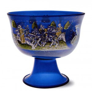 Barovier Cup, Glass Museum in Murano, Venice