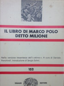 The cover of Milion by Marco Polo