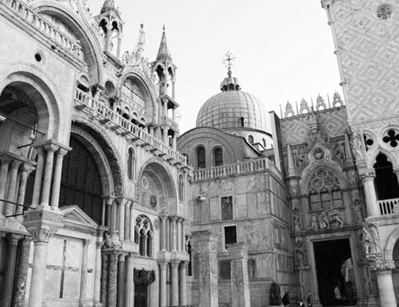 St Mark's square, the basilica and the Doge's palace