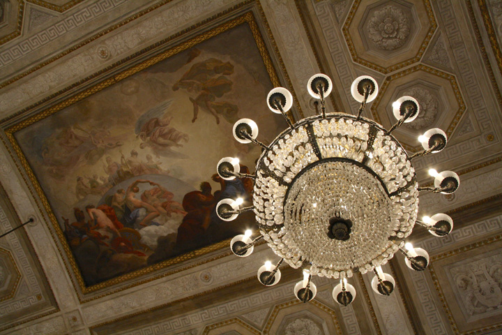 Ballroom in the Royal Palace or Napoleonic Wing in Venice
