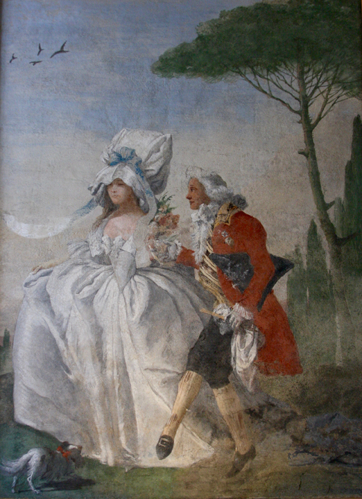 Ca' Rezzonico, Giandomenico Tiepolo, Dance