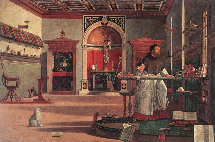 Scuola Schiavoni, Vittore Carpaccio's St Augustine