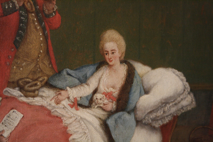Ca' Rezzonico, Pietro Longhi, Chocolate in the morning