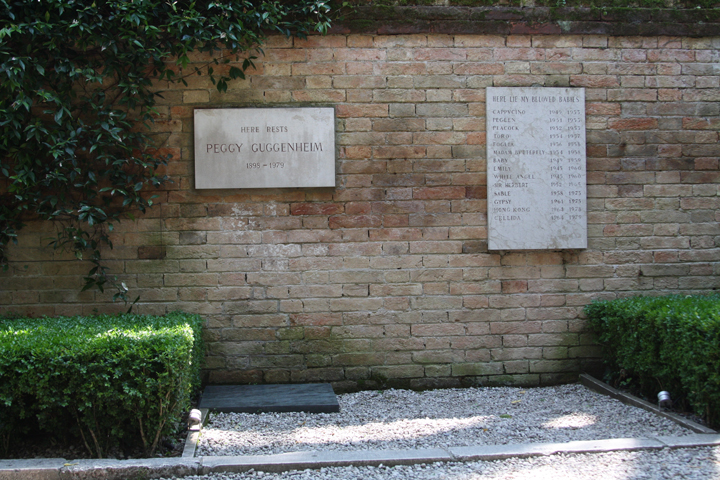 Peggy Guggenheim's Grave