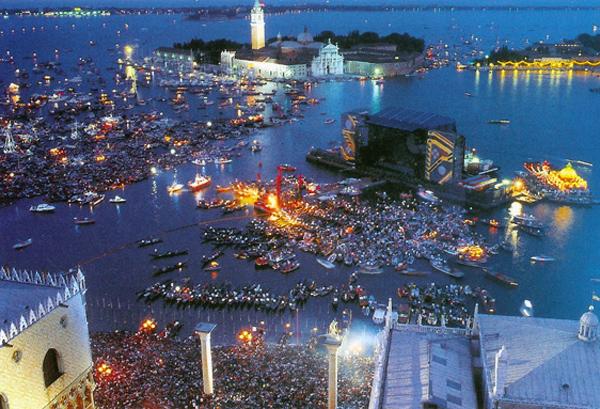 Venice, Pink Floyd in concert, 1989