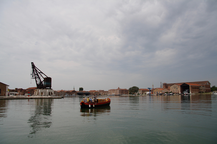 Venice, the Arsenale, the large basin