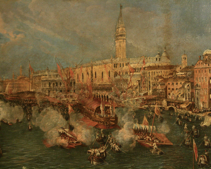 Antonio Stom, Ascension festivity, Querini Stampalia Museum in Venice