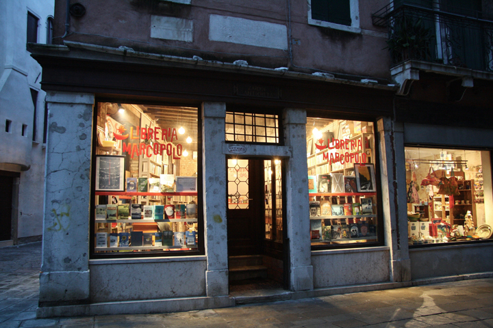 Dorsoduro, The Marco Polo bookshop