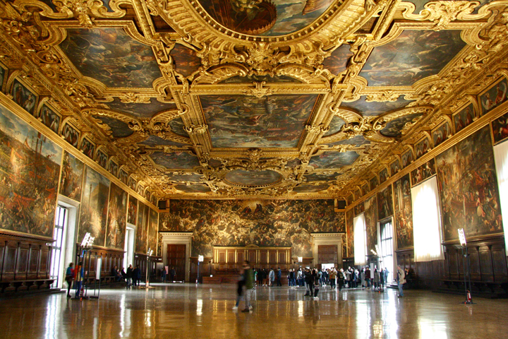 Doge's palace in Venice, Major Council Hall