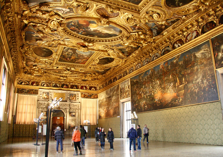 Doge's palace in Venice, Hall of Scrutiny