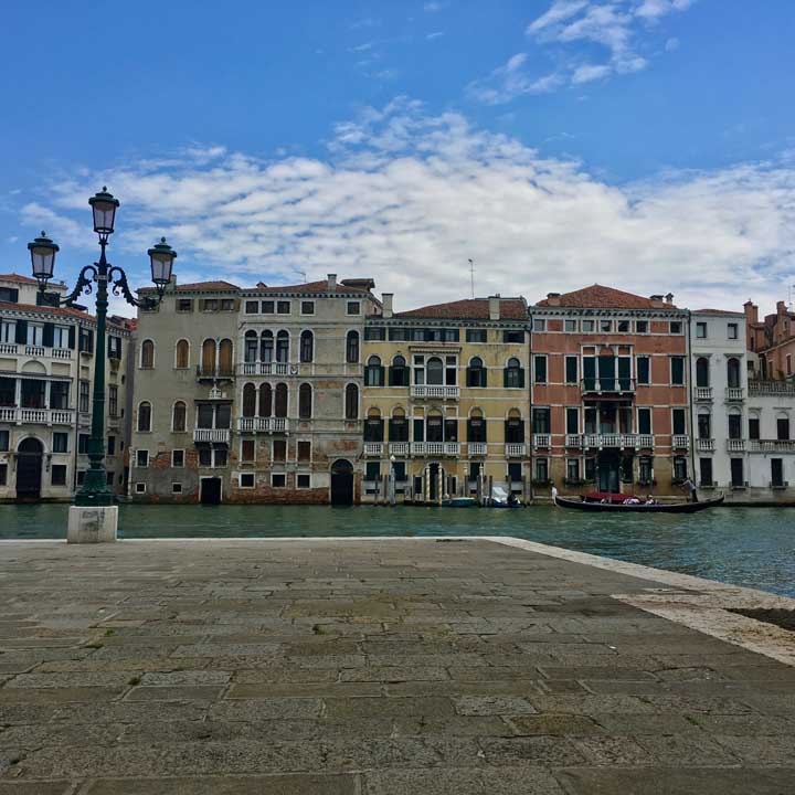 The Grand Canal, view from San Stae church