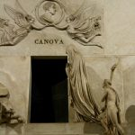 The Frari church, Monument to Antonio Canova, Venice