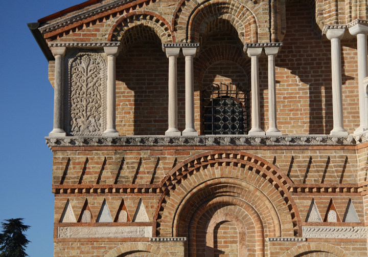 The church of Santa Maria e Donato on the island of Murano, detail of the apsis