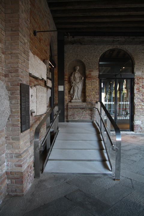 The Glass Museum of the island of Murano, Venice