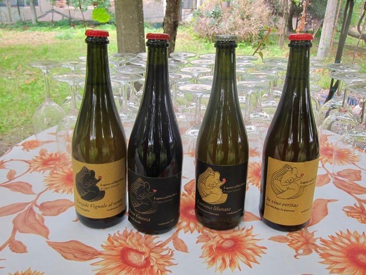 Venice, Laguna nel bicchiere, Wine labels
