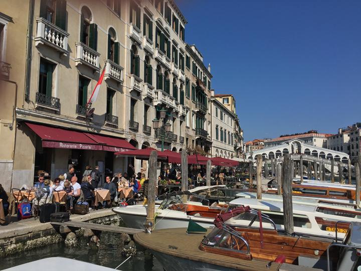 Venice, Riva del Vino at Rialto