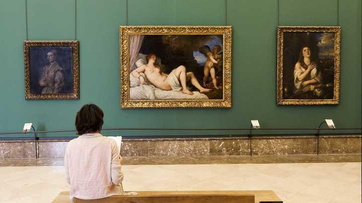 Titian, Danae, Museo di Capodimonte in Naples