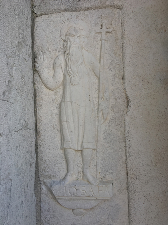 Saint Josaphat bas-relief in Venice