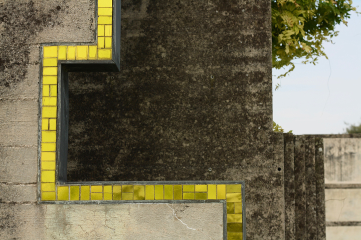 Altivole, Brion Tomb designed by Carlo Scarpa, detail