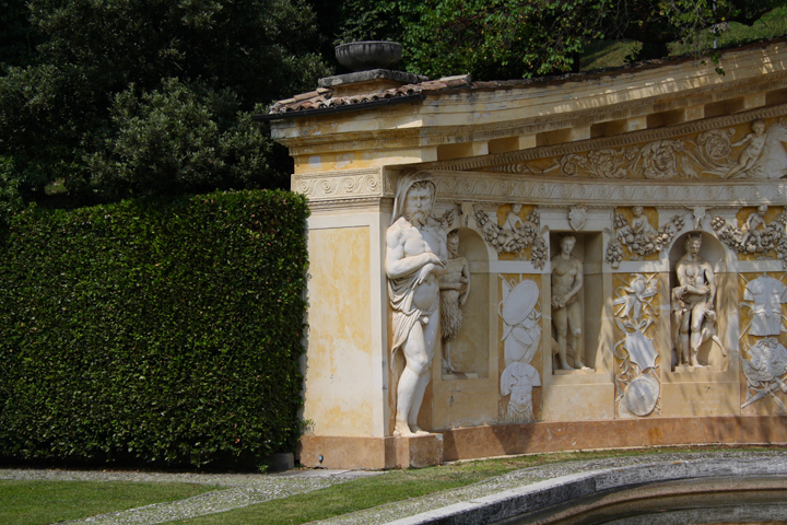The Garden and the land at Villa Barbaro at Maser by Andrea Palladio