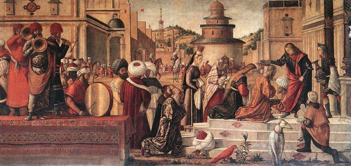 Venice, Scuola San Giorgio degli Schiavoni, Vittore Carpaccio