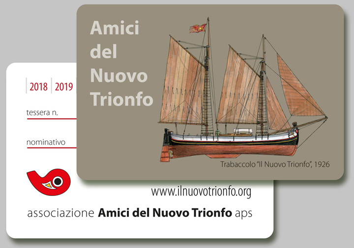 "Membership Card ""Friends of the Nuovo Trionfo"""