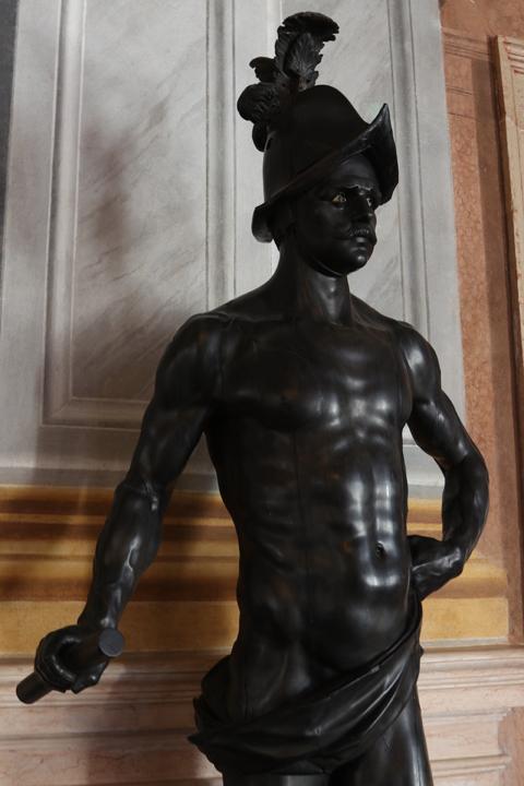 Andrea Brustolon, Ethiopian warrior, Ca' Rezzonico, Venice