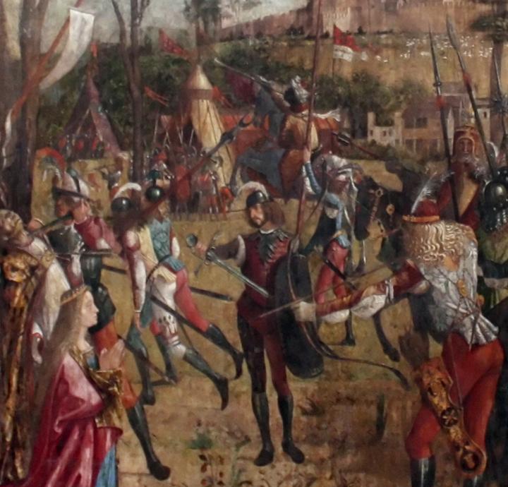 Vittore Carpaccio, Saint Ursula's Martyrdom, Accademia Galleries, Venice
