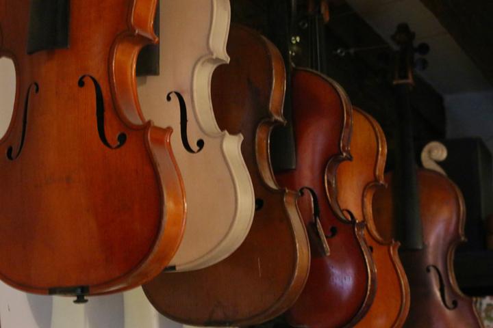 Violins in Riccardo Guaraldi, Luthiers in Venice