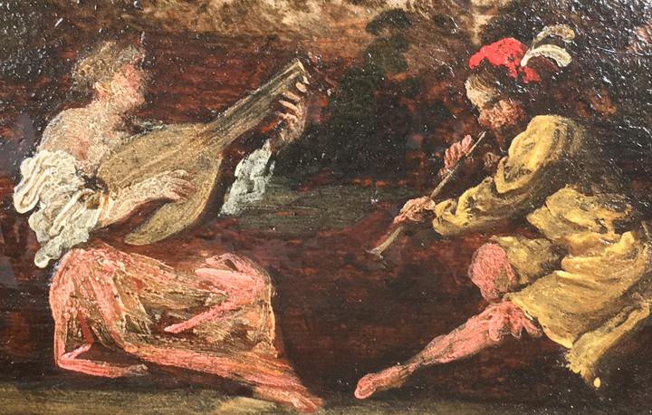 Bucolic concert, Querini Stampalia Museum, Venice