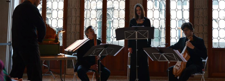 School of Ancient Music in Venice, SMAV, a concert at Palazzo Grimani, Venice