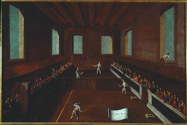 Gabriel Bella, Il gioco della racchetta, Querini Stampalia Foundation, ca. 1770