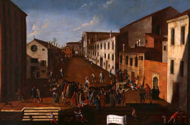 Gabriel Bella, Il gioco del pallone in campo Gesuiti, Querini Stampalia Foundation, ca. 1770