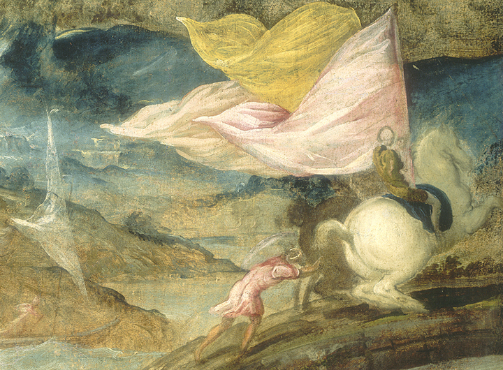Jacopo Tintoretto La conversione di san Paolo, 1539-1540 Washington, National Gallery of Art, Samuel H. Kress Collection 1961.9.43, Detail