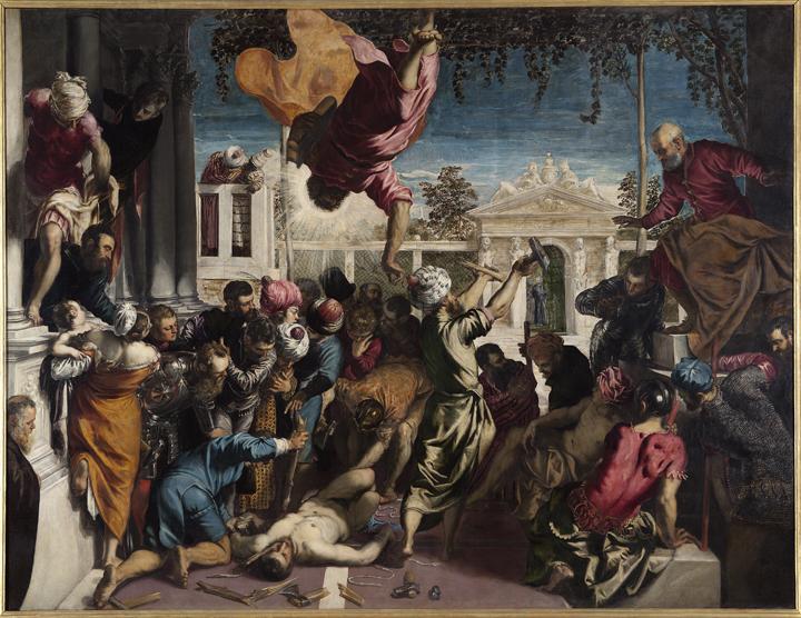 Jacopo Tintoretto San Marco libera lo schiavo dal supplizio della tortura (detto anche Miracolo dello schiavo), 1548 Venezia, Gallerie dell'Accademia © Archivio fotografico G.A.VE, su concessione del Mibac