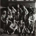 Hermann Landshoff, Peggy Guggenheim and a group of artists in exile, New York, 1942