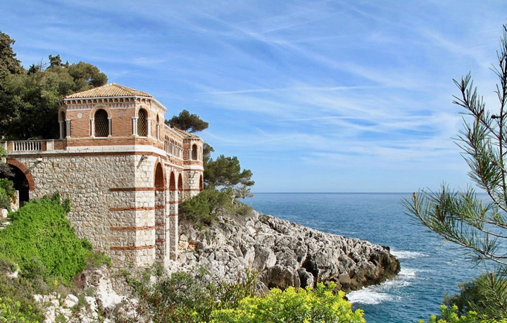 Villa Cypris at Cap-Martin, France