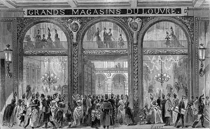 Les Grands Magasins du Louvre, Paris