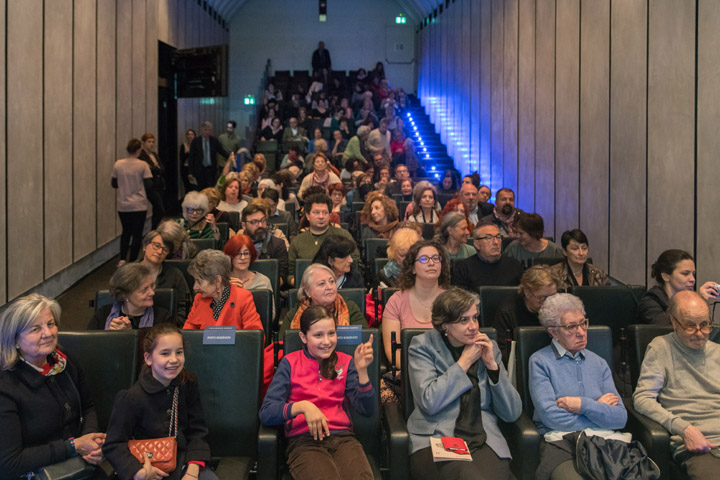 Eugenia Rico's & Liliana Nechita's audience at the Querini Stampalia Foundation in Venice for Incroci di Civiltà 2018 - credits by Venice Documentation Project