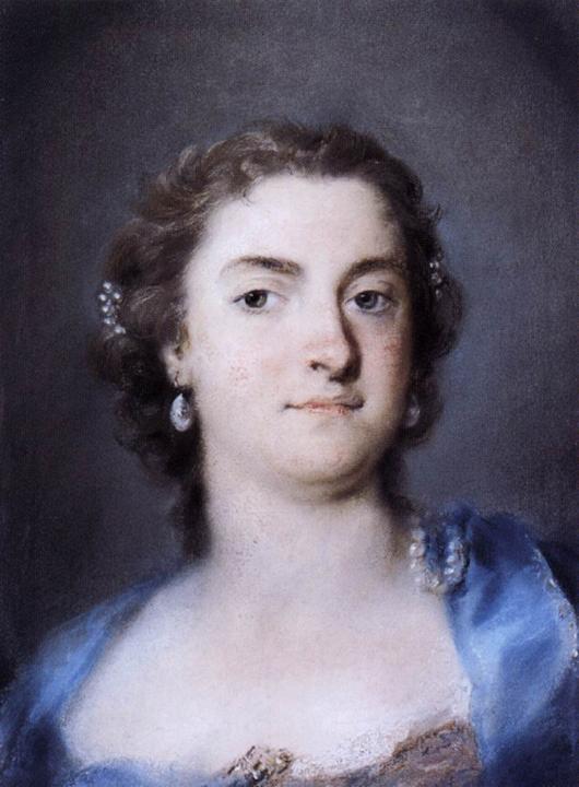 Rosalba Carriera, Faustina Bordoni Hasse, Ca' Rezzonico
