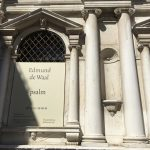 Libraries in Venice: the project Psalm by Edmund de Waal