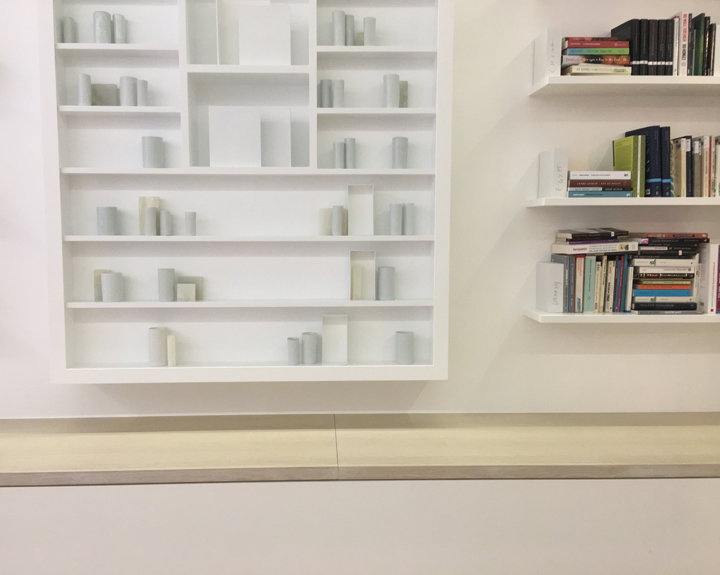 Inside the library of exile by Edmund de Waal, Venice, 2019