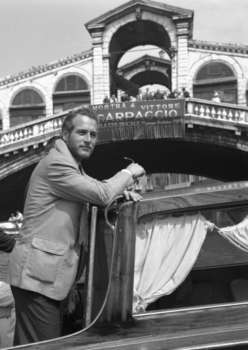 Paul Newman in Venice, CameraPhoto Epoche©, Venice