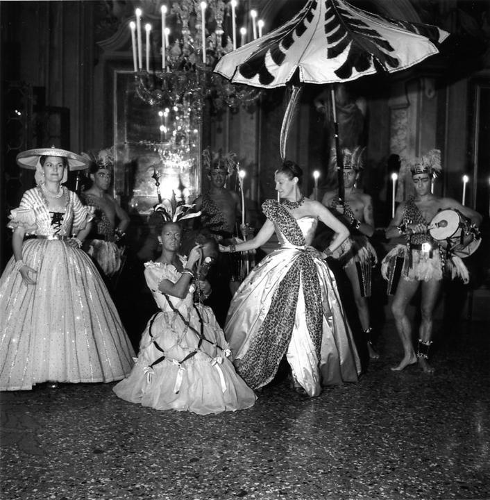 At le Bal Oriental,Daisy Fellowes as La Reine d'Afrique
