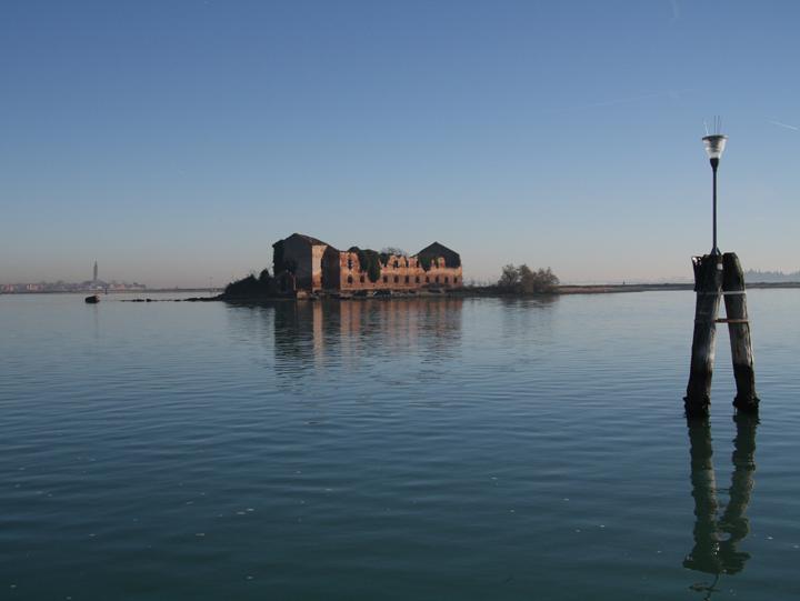The Venetian lagoon: the island of Madonna del Monte