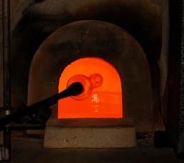 Glass factory Murano